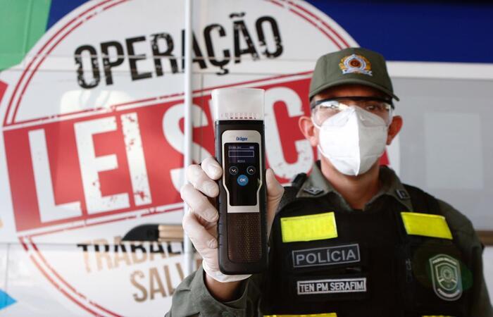 (Foto: Divulgação / Operação Lei Seca em Pernambuco)