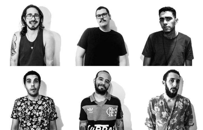 O novo single da banda conta com a participação de Dinho da banda Boogarins. (Foto: Divulgação)
