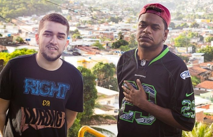 Eliabe King, 28, e Alexandre Vinicius, 24, formam o Brega Bregoso (Foto: Gera/Divulgação)
