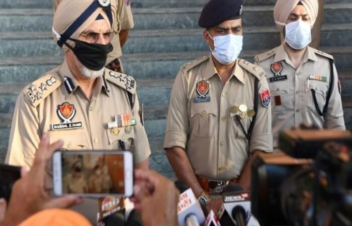 (Policiais do estado de Punjab (nordeste). Foto: AFP )