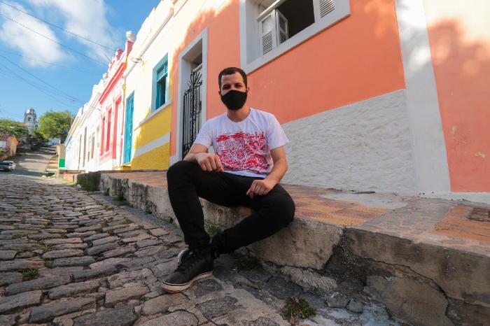 Célio Gouveia, da organização do Elefante, diz que carnaval em 2021 é incerto. (Foto: Tarciso Augusto/Esp.DP)