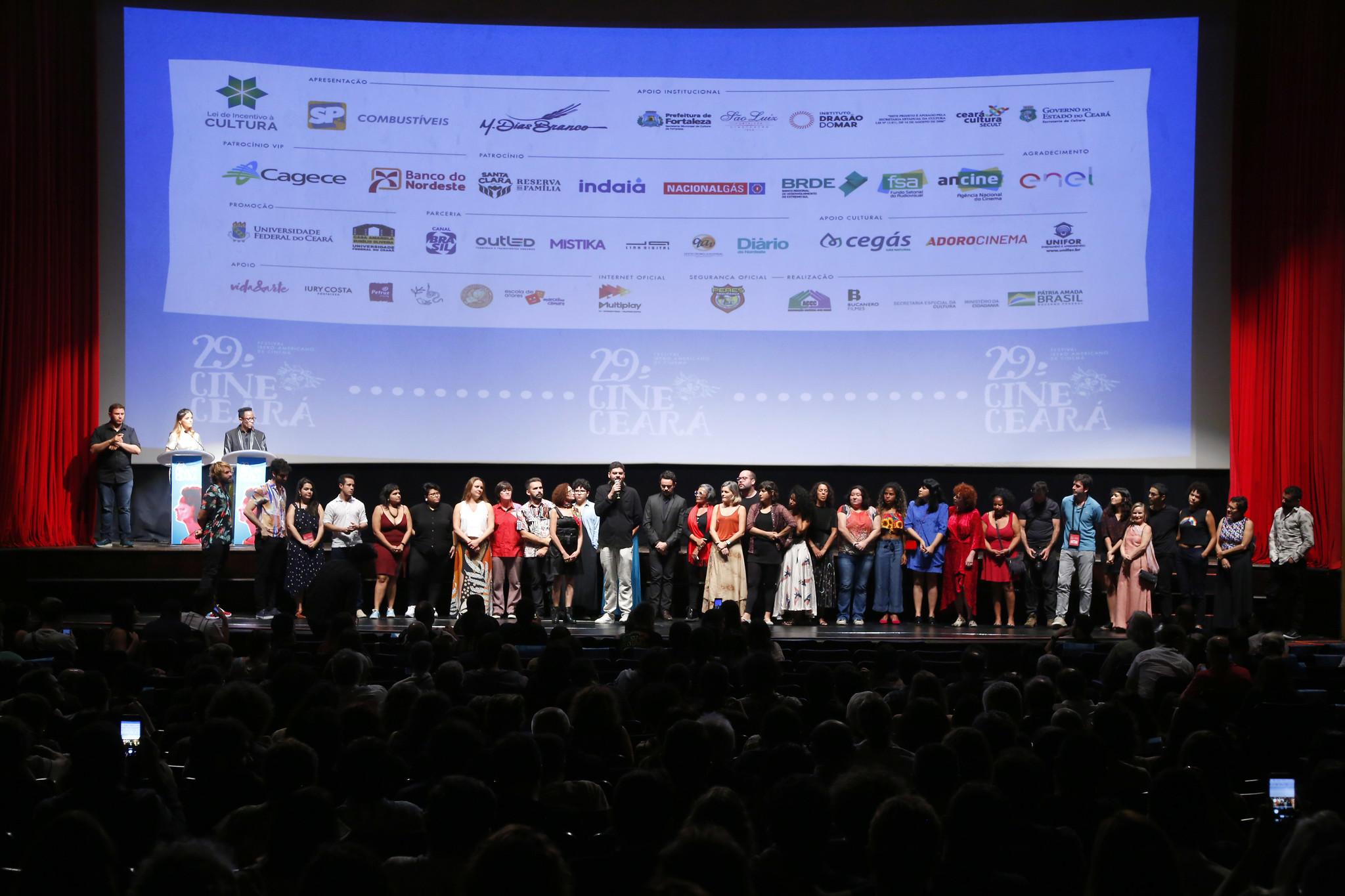 Premiados Cine Ceará em 2019 (Foto Chico Gadelha/Divulgação)