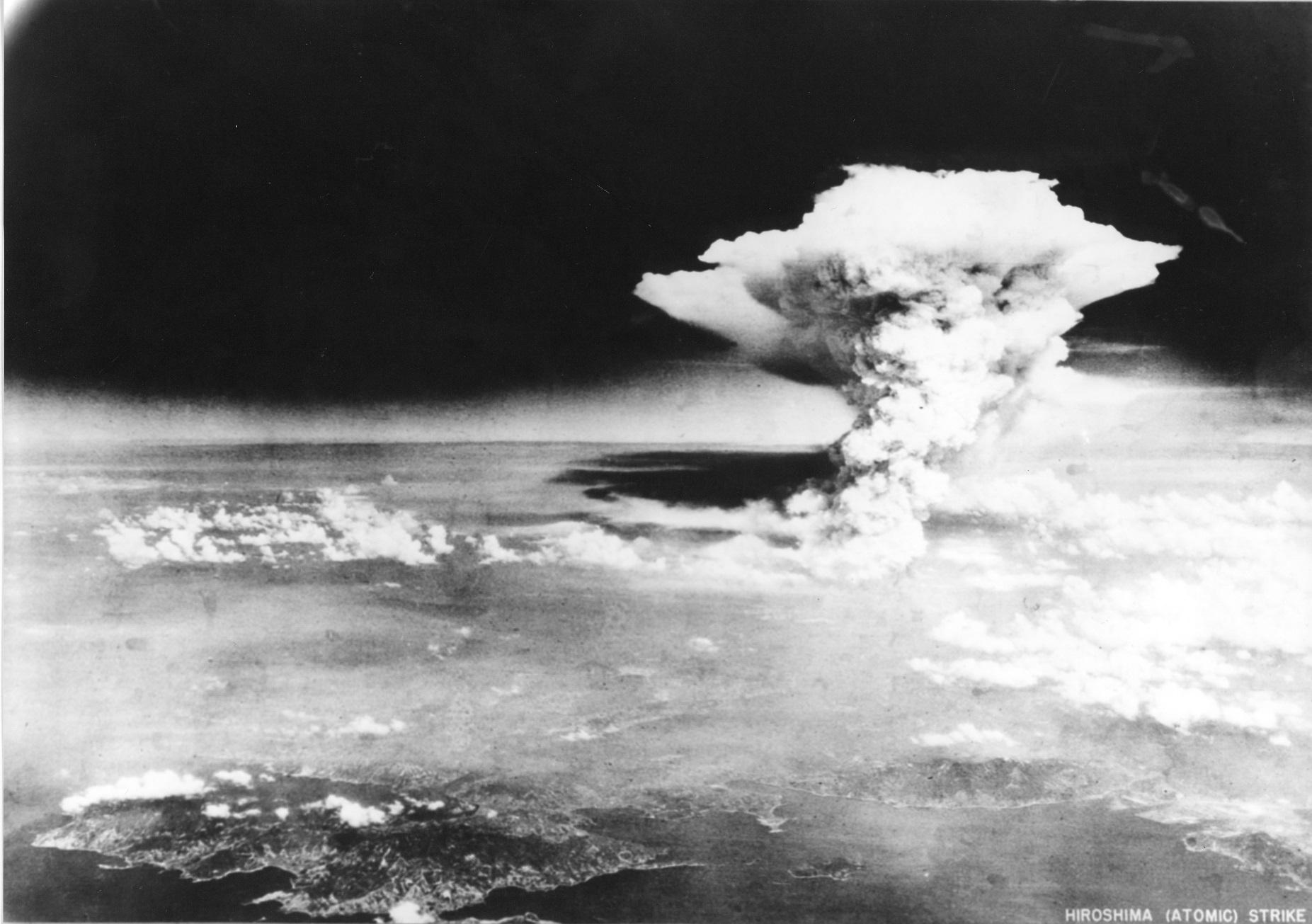 (Foto: Handout / Hiroshima Peace Memorial Museum / US ARMY / AFP)