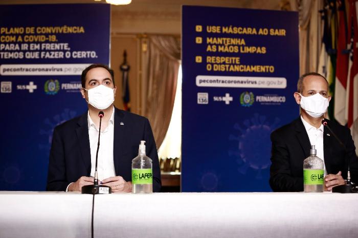 Anúncio foi feito em pronunciamento do governador e do secretário estadual de Educação. (Foto: Heudes Regis/SEI/Divulgação)