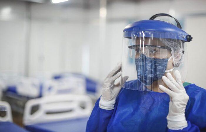O MPPE recomendou também, em específico, a distribuição de de luvas, óculos de proteção, álcool gel e máscaras (Imagem ilustrativa reprodução )