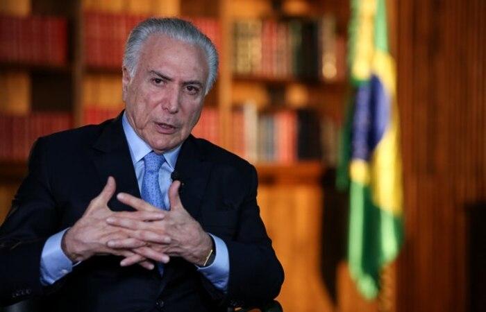 Ex-presidente é filho de libaneses e deverá coordenar apoio brasileiro (Marcos Corrêa/PR/Imagem de arquivo )