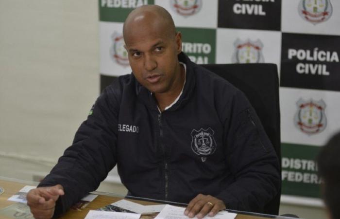 O delegado Ricardo Vianna, da 3ª Delegacia de Polícia de Brasília, foi xingado na frente de sua filha enquanto estava em uma lanchonete. (Foto: Gustavo Moreno/CB/D.A Press.)