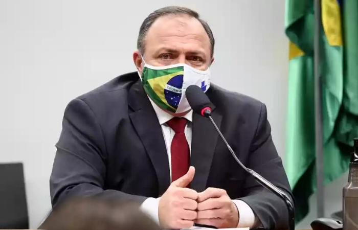 Pazuello chefia a pasta interinamente há 87 dias  (Foto: Najara Araujo/Câmara dos Deputados)