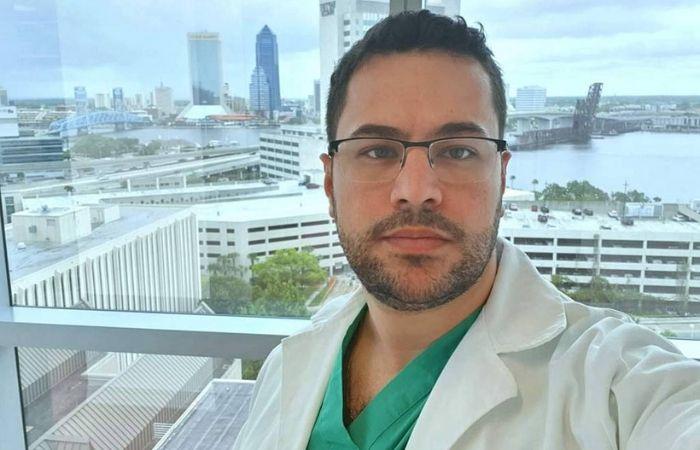 Morto pela Covid-19, o médico Lucas Pires Augusto, 32, ajudou em cirurgia de separação de gêmeas siamesas (Foto: Arquivo Pessoal )