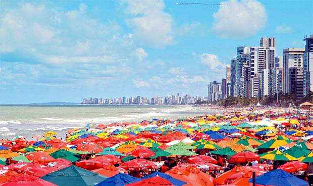 Destas, 97,3% (628 mil) nacionais e 2,7% (17 mil), internacionais. (Foto: Guilherme Veríssimo / Esp. DP / D.A.Press)