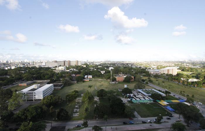 A Universidade também possibilitou que os estudantes já matriculados possam complementar a matrícula efetuada (Ricardo Fernandes Arq DP)