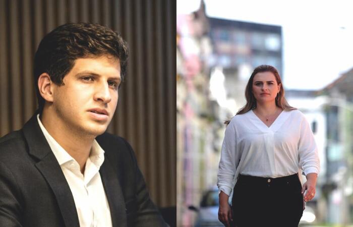 João Campos e Marília Arraes são deputados federais por Pernambuco e estão na disputa pela prefeitura do Recife (Divulgação/ Ricardo Labastier/ Divulgação)