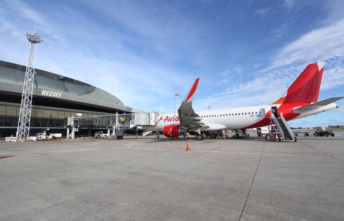 Área de embarque do Aeroporto Internacional do Recife (imagem ilustrativa) (Foto: Nando Chiappetta/DP)
