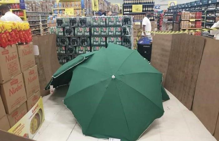 Caso aconteceu em 14 de agosto, no Carrefour da Torre, Zona Norte do Recife. (Foto: Reprodução/Facebook.)