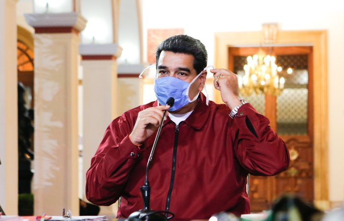 (Foto: Venezuelan Presidency/AFP )