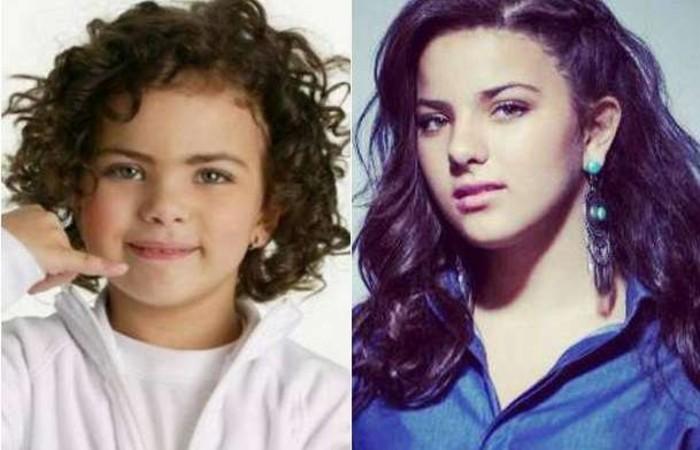 A garotinha, que tinha apenas 3 anos e chamava a atenção pela semelhança física com a estrela, cresceu.  (Foto: Reprodução / Internet)