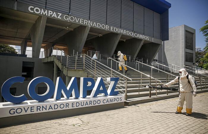Os equipamentos foram sanitizados e vão funcionar das 8h às 16h, inicialmente com os serviços mais solicitados pela população (Andréa Rêgo Barros/PCR)