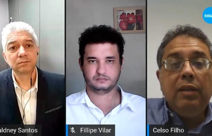 Celso Muniz defendeu trazer características de gestão privada para a pública (Foto: Reprodução de vídeo)