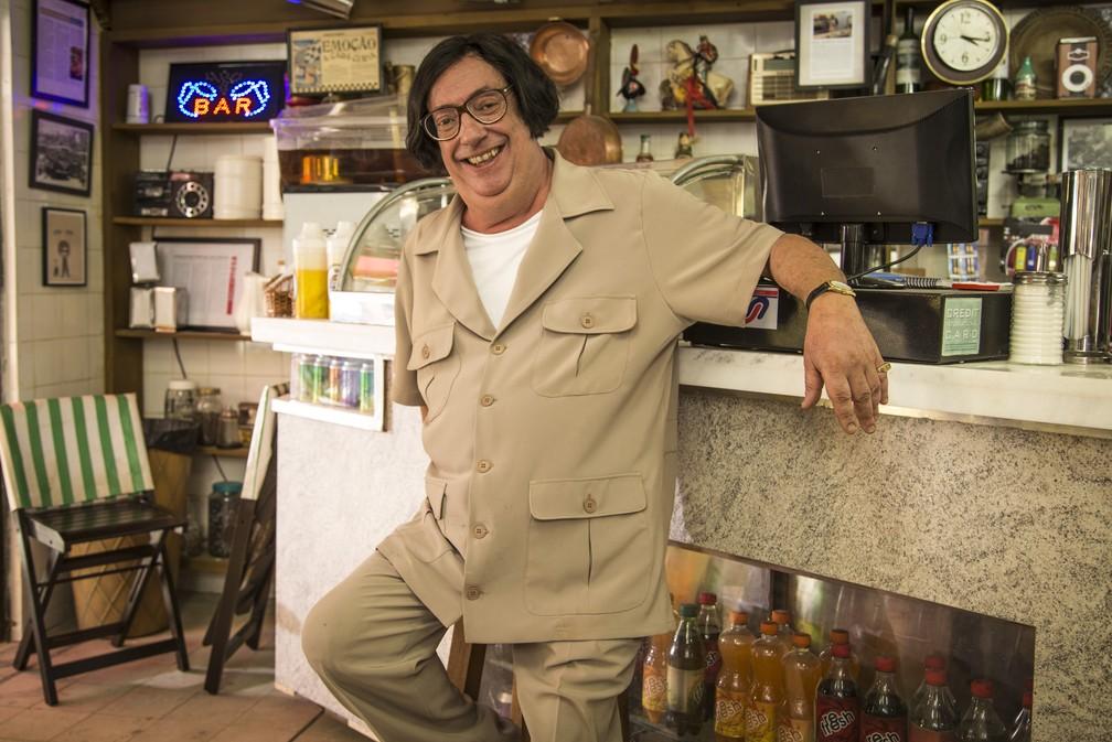 Marcos Oliveira interpretou o personagem Beiçola durante 13 anos no seriado A grande Família (Foto: Paulo Belote/TV Globo)