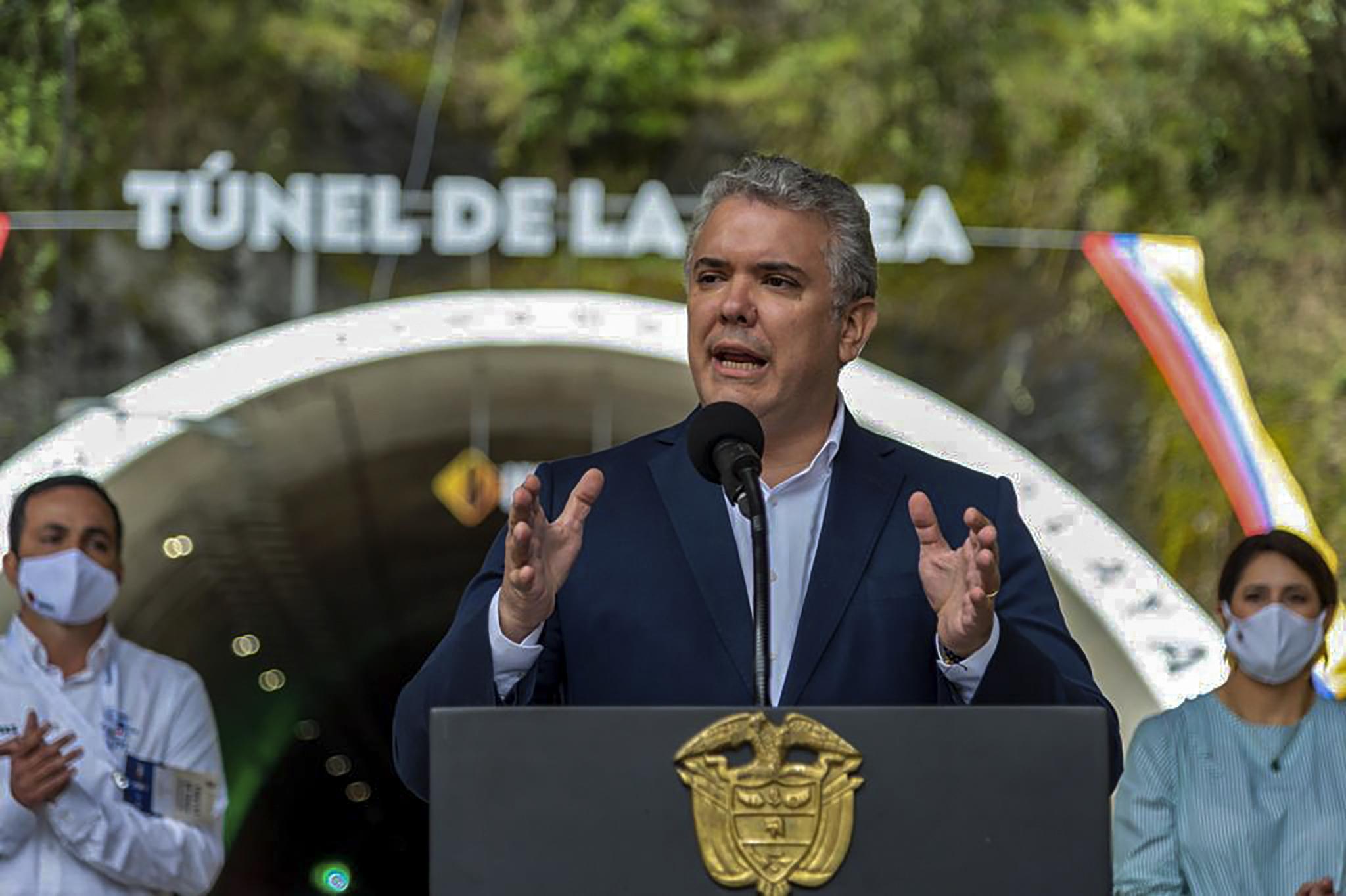 (Iván Duque. Foto: Colombia Presidency Press/Colombia Presidency/AFP)