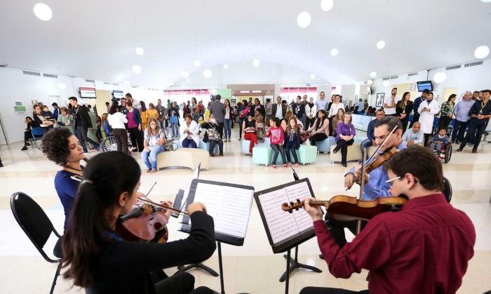Foram mais de 20 dias e um esforço grande dos 72 músicos.  (Foto: Marcelo Camargo/Agência Brasil.)