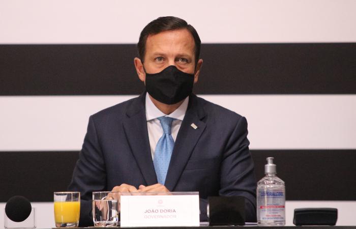 João Doria foi eleito governador de São Paulo em 2018. (Foto: Governo do Estado de São Paulo.)