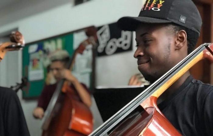 Polícia do Rio diz que havia um mandado de prisão em aberto contra o violoncelista Luiz Carlos Justino. (Foto: Reprodução.)