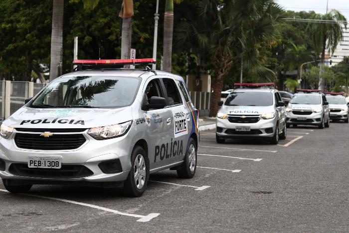 O Recife registrou a menor incidência de roubos no mês de agosto dos últimos 15 anos. (Foto: Bruna Costa/Esp. DP.)
