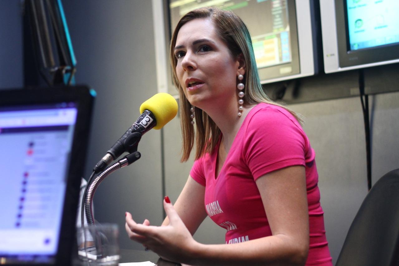 Patrícia Domingos é pré-candidata à prefeitura do Recife (Bruna Costa/ Esp Diario)
