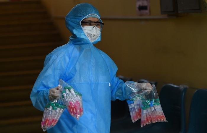 (FOTO: Nhac NGUYEN / AFP)
