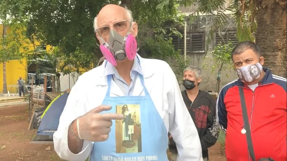 Padre denuncia ameaças após ataque de candidato à prefeitura de São Paulo (Foto: Reprodução)