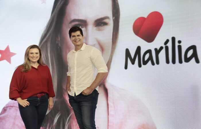 Marília e João são oficializados candidatos na chapa PT/PSOL no Recife (Ricardo Labastier)