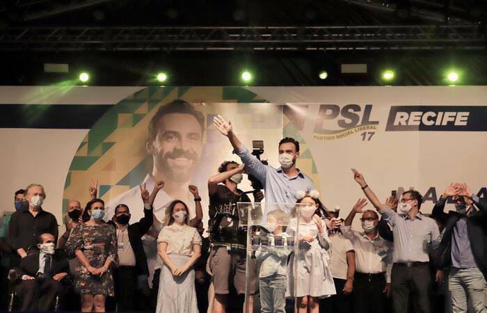 (O nome de Carlos Andrade Lima foi oficializado em convenção na noite desta quarta-feira. Foto: Costa Neto/Divulgação)