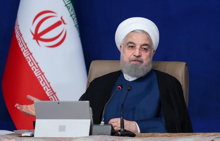 (Foto: Iranian Presidency/AFP )
