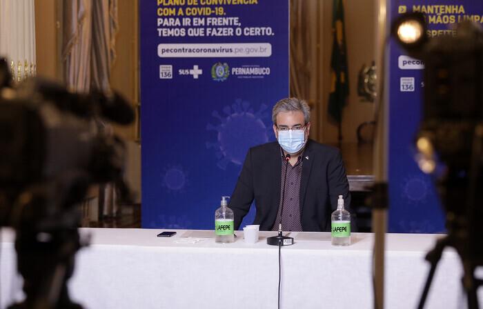 Gilberto Freyre Neto, secretário de cultura do Governo de Pernambuco (Foto: Hélia Scheppa/Governo do Estado)