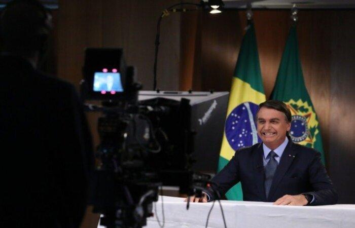 """No encerramento do discurso, o presidente afirmou que o Brasil é um país cristão e conservador e tem na família sua base e desejou que """"Deus abençoe a todos!"""" (Foto: Marcos Corrêa/PR)"""