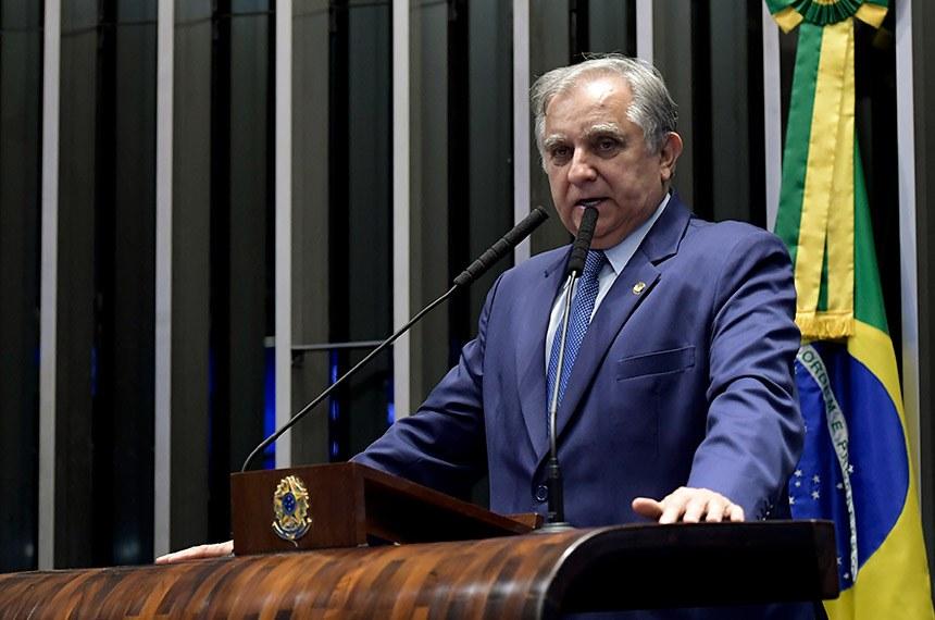 Vice-líder do governo no Senado, Izalci Lucas (PSDB-DF) (Foto: Waldemir Barreto/Agência Senado)