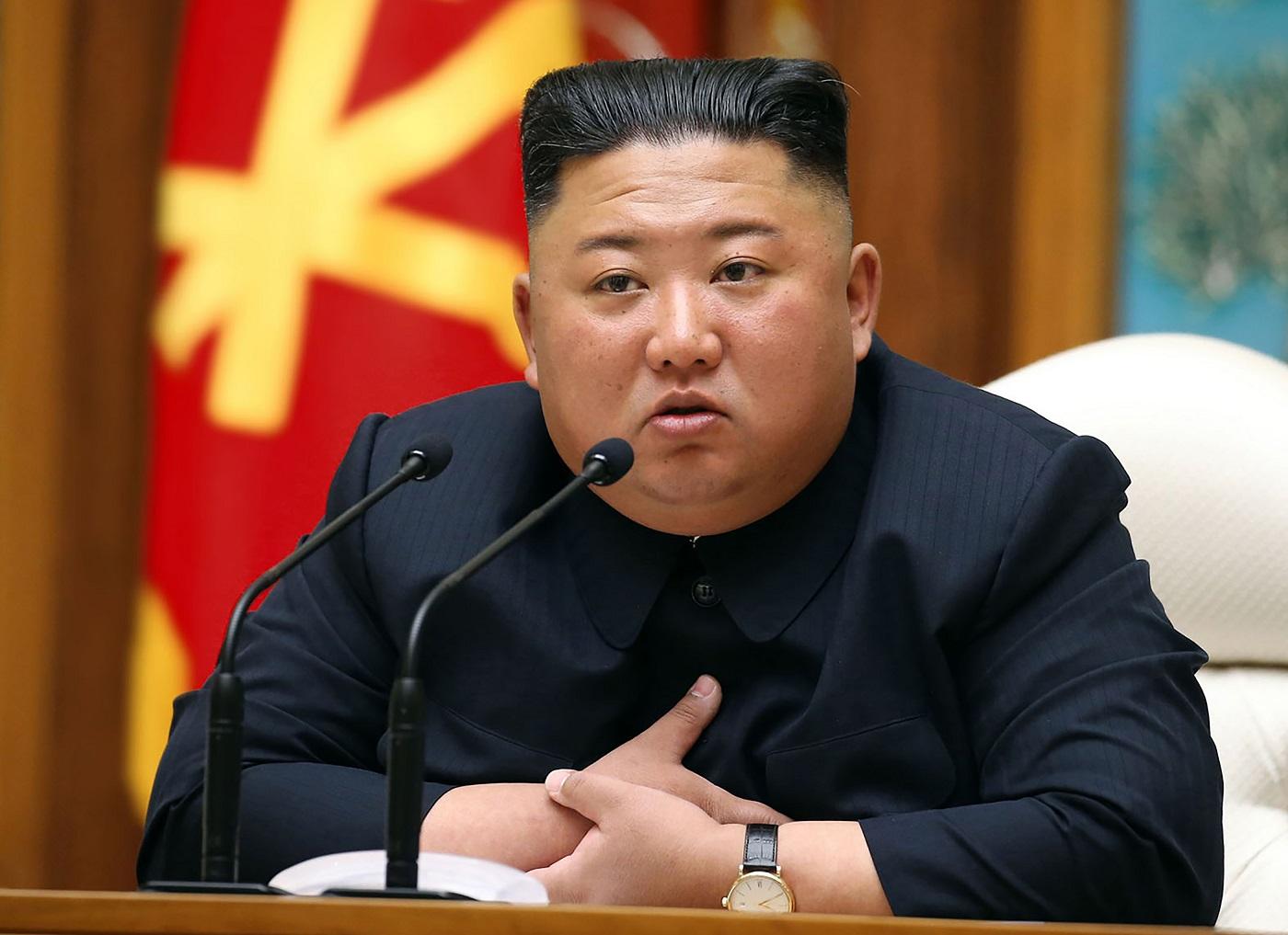(Foto: STR / KCNA VIA KNS / AFP)