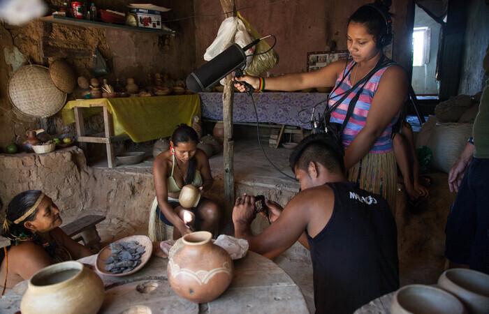 Mostra oficial tem 26 produções indígenas de vários países  (Foto: Purki/Divulgação)