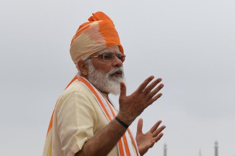 Primeiro-ministro indiano, Narendra Modi (Foto: AFP/Arquivos)