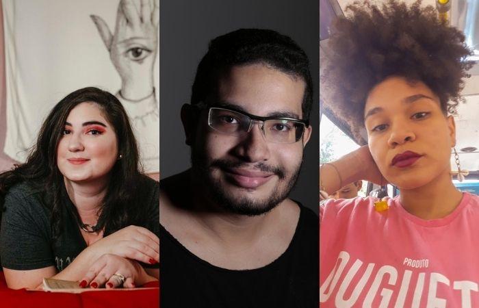 Mirela Paes, Rodrigo Paiva e Nathe (Foto: Divulgação)
