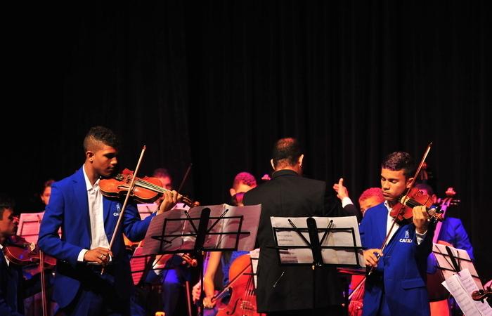 (Foto: Orquestra Criança Cidadã/Divulgação)
