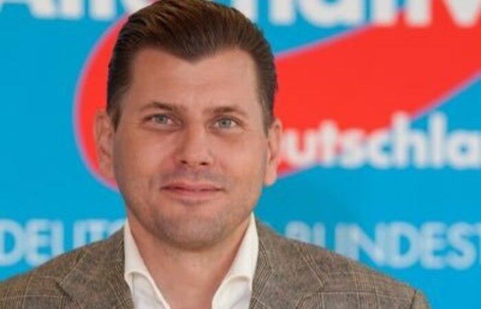 Christian Lüth é ex-porta-voz do partido de direita radical AfD (Alternativa para a Alemanha)  (Foto: Divulgação)