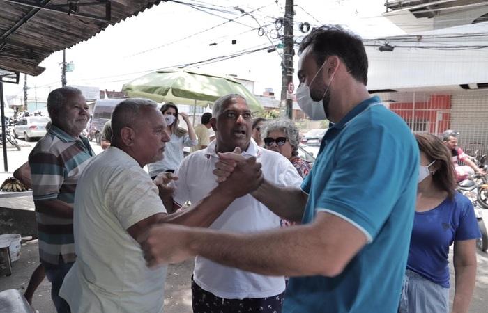(O candidato pensou na proposta depois de ouvir as demandas na população para área da saúde. Foto: Costa Neto/Divulgação)