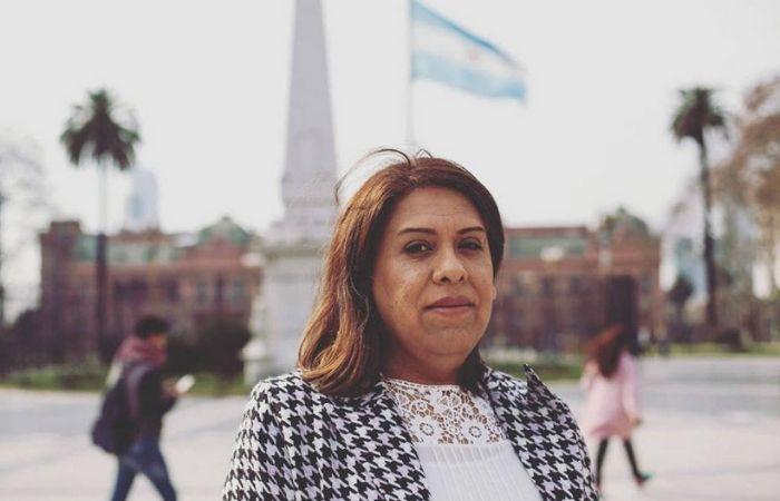 Alba Rueda, a primeira mulher trans a ocupar uma subsecretaria de Estado na Argentina (Foto: Reprodução/@Albarueda.ok/Instagram )