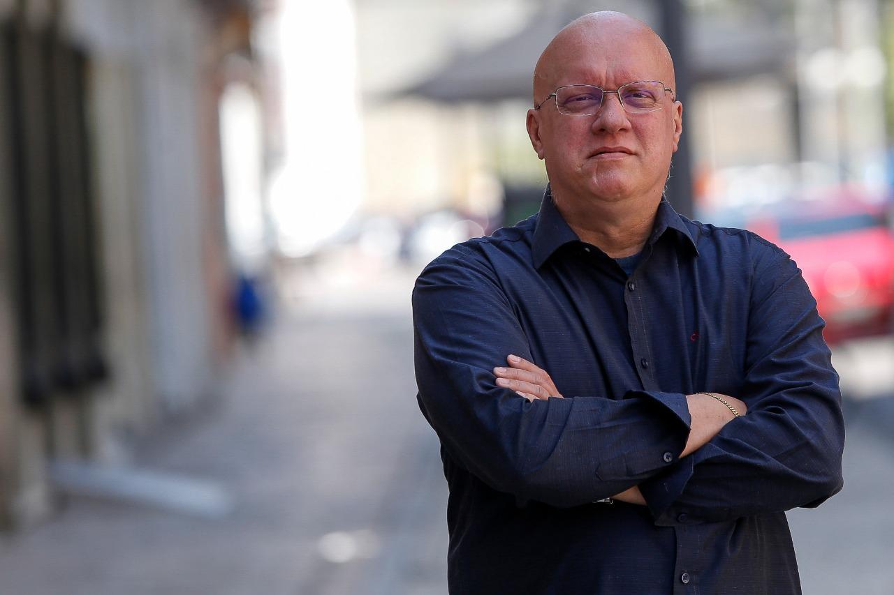 (Waldir Costa, candidato à presidência do Crea pela chapa Unidos pela Engenharia. Foto: Leandro de Santana / DP)