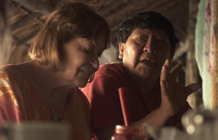 Gyuri, filme dirigido pela pernambucana Mariana Lacerda, é dedicado à trajetória da fotógrafa e ativista Claudia Andujar em prol do reconhecimento e da luta indígena. (Foto: Divulgação)