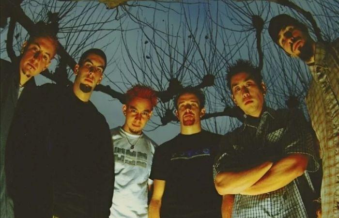 Integrantes do Linkin Park no início da carreira (Foto:  Brad Miller/Divulgação)