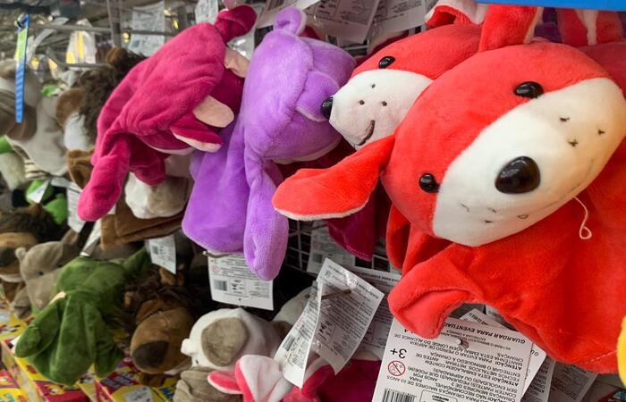 Ao comprar um brinquedo, fique atento ao selo de certificação do Inmetro. (Foto: Thays Martins/ DP)