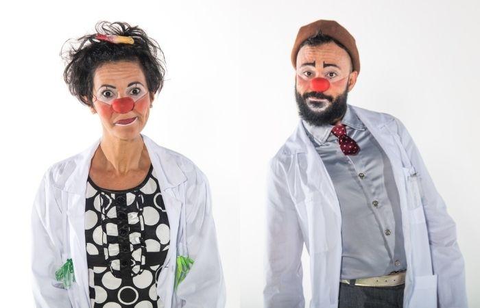 Dr. Wago e Dra. Monalisa compõem o time do Doutores da Alegria (Foto: Doutores da Alegria/Divulgação)